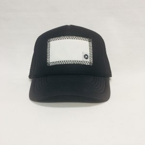 Scratch-A-Patch Black Hat Black Trim