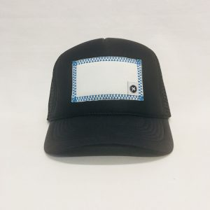 Scratch-A-Patch Black Hat Blue Trim