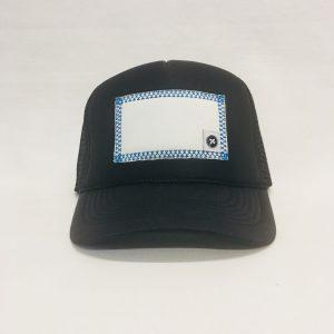 Scratch-A-Patch Black Hat Blue Trim